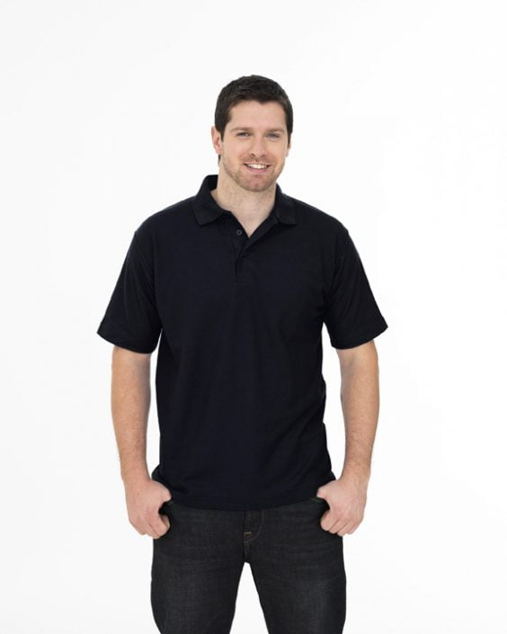 NAVY/BLACK POLO SHIRTS