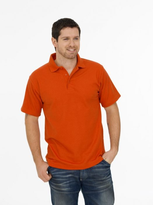 ORANGE POLO SHIRTS