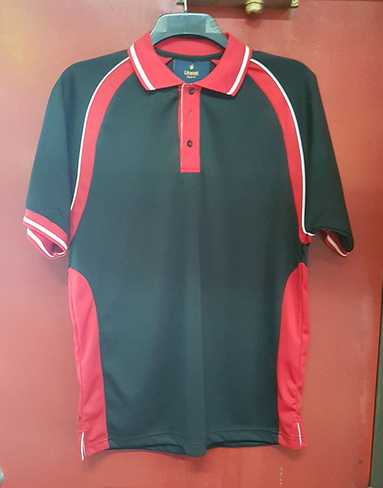 RED BLACK POLO