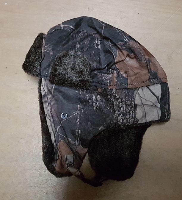 FUR LINED HAT £12