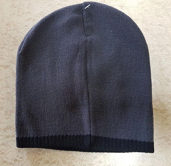 GREY/NAVY HAT £5