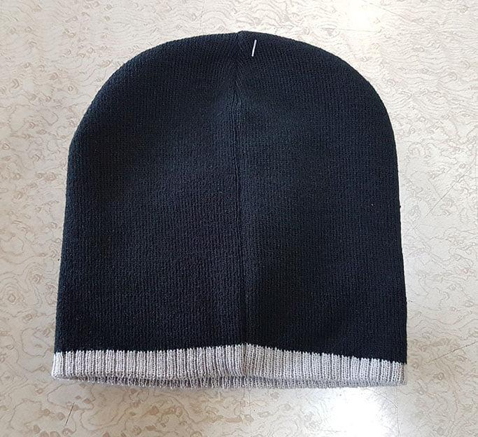 NAVY GREY HAT