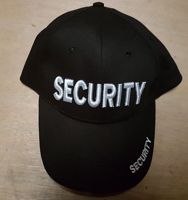 SECURITY BASE BALL HAT