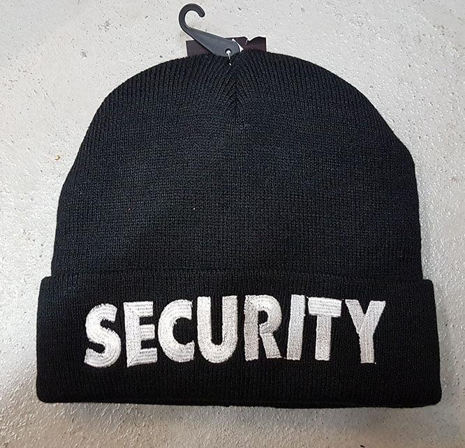 SECURITY WATCH CAP £7