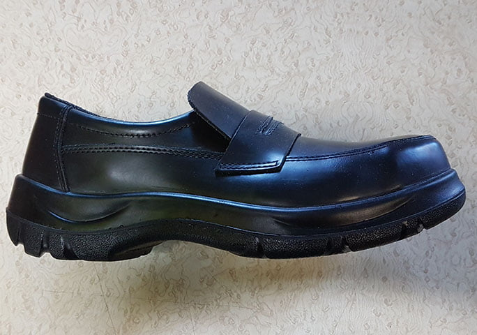 SLIP ON STEEL TOE SHOE