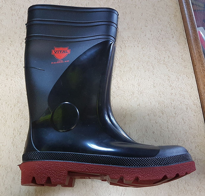 STEEL TOE WELLIES